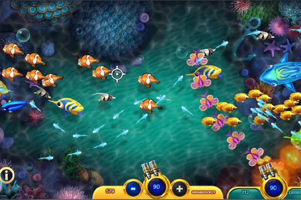 เกมยิงปลา เครดิตฟรี - เริ่มจากยิงปลาตัวเล็กก่อน